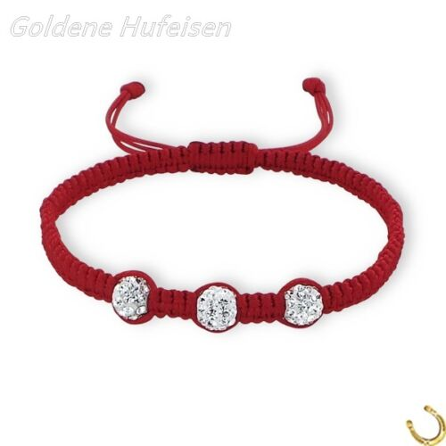 z-493 Baby Kinder Shamballa Armband Kristall Verstellbar Top Geschenkidee