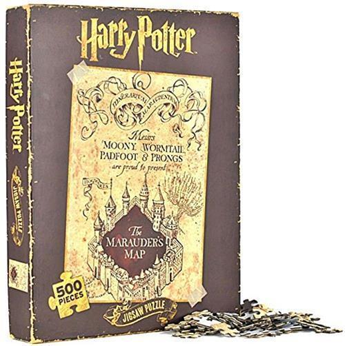 Harry Potter Jigsaw Puzzle (500 Pieces) - Marauder's Map