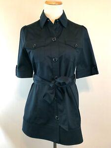 corte il maniche Top scuro manica tasche Taglia con blu corta di per Kumikyoku seno con 2 giacca TOfTX