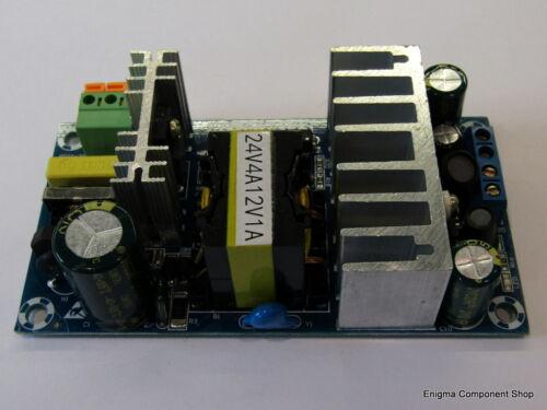 24V//4A /& 12V//1A Leistung 120W Schaltnetzteil Versorgung Doppel Trusteduk