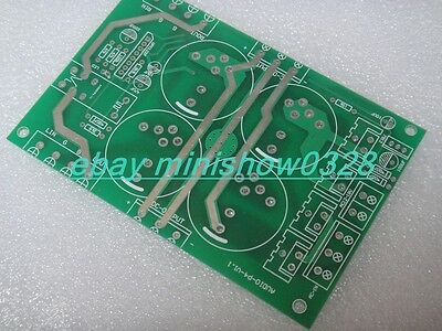 Power supply PSU with speaker protection for power amplifier DIY bare pcb
