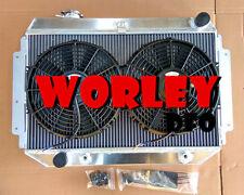 For HOLDEN Radiator&Fan HQ HJ HZ HX LH LX Kingswood Torana V8 253 308 RACE AT