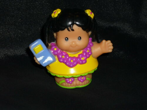 Fisher Price Little People Airplane Vacation Girl MIA