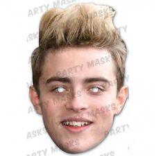 John Jedward Celebrity Cardboard Mask - Single