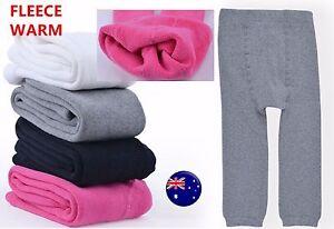 Girl's Winter Warm Thermal Fleece Pants