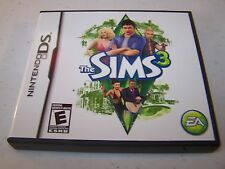 The Sims 3 Nintendo DS Lite DSi XL 3DS 2DS w/Case & Manual
