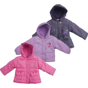 5ce368f38 Baby Girls Winter Denim Jackets Coats Kids Fur Cowboy Hooded Warm ...