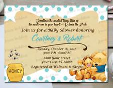 20 winnie the pooh baby shower invitations custom ebay item 8 winnie the pooh baby shower invitations 10 5x7 printed winnie the pooh baby shower invitations 10 5x7 printed filmwisefo
