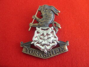 BRITISH ARMY BRAND NEW THE YORKSHIRE REGIMENT BELT BUCKLE SILVER DEAL