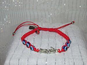 Red santa muerte bracelet