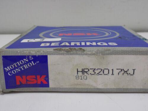 NSK TAPERED ROLLER BEARING HR32017XJ NIB