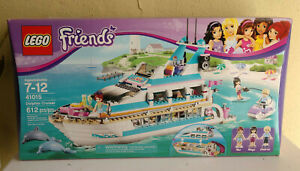 New & RETIRED 203 LEGO Friends 41015 Dolphin Cruiser New in Factory Sealed Box