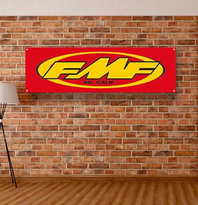 FMF Vinyl Banner Sign Garage Shop Adversting Flag Poster Racing