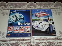 5 Dvd The Love Bug Herbie Ride Again Goes To Monte Carlo Banana Fully Loaded