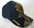 BROWNING hunting hat NEW baseball cap big buckmark black MOINF camo