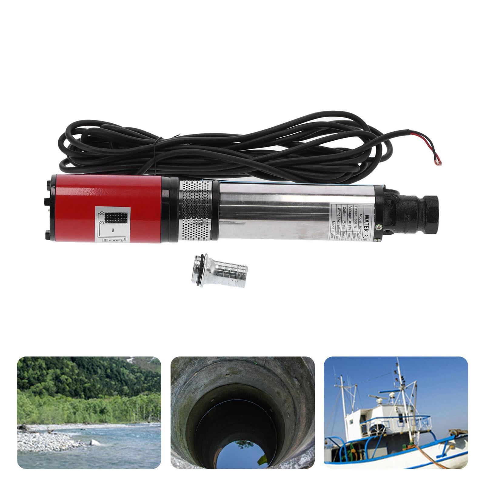 Deep‑Well Pump Large Flow High Lift Battery Solar Floating Impeller DC24V/DC12V