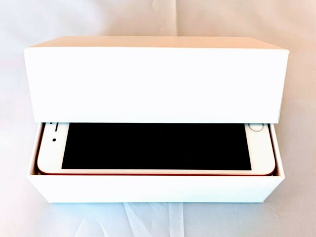 Apple iPhone 7 PLUS 256GB RED A1661 Unlocked CDMA+GSM AT&T Verizon T-Mobile, SR