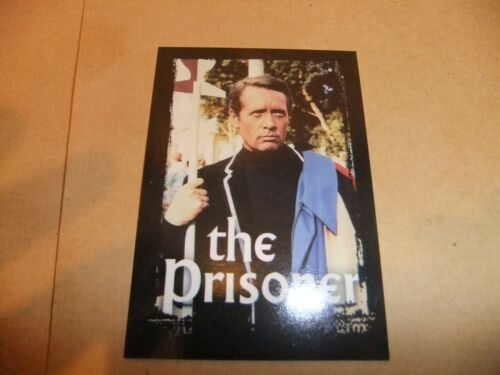 PATRICK McGOOHAN THE PRISONER CORNERSTONE RARE A PROMO CARD ITC