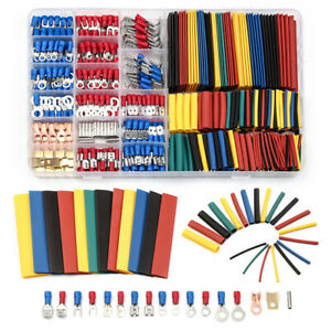 678Pcs-Car-Wire-Electrical-Set-Spade-Terminals-Connectors-amp-Heat-Shrink-Tube-Box