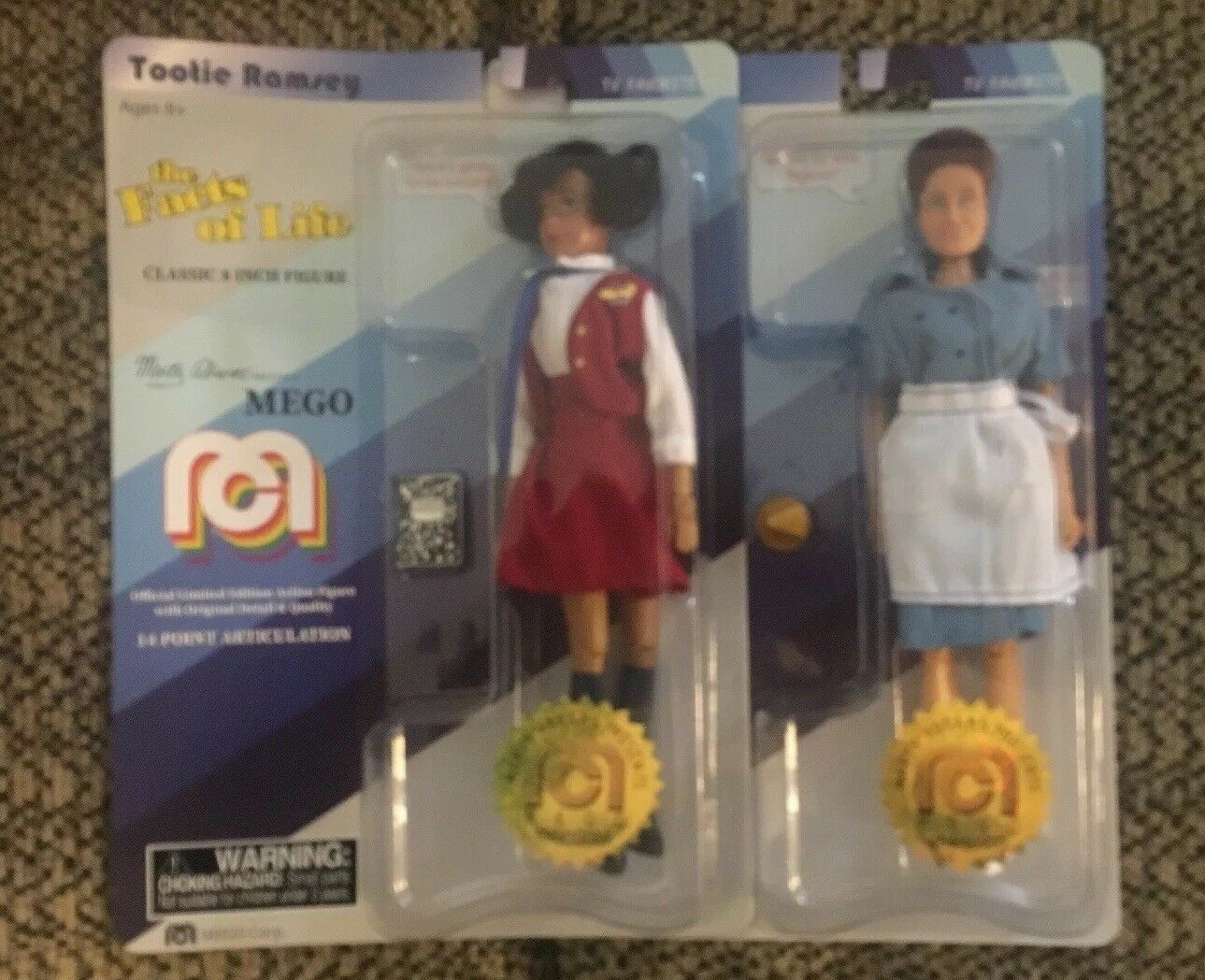 Mego Marty Abrahms Presents Tootie Alice 8 Inch Numbered Edition First 1000
