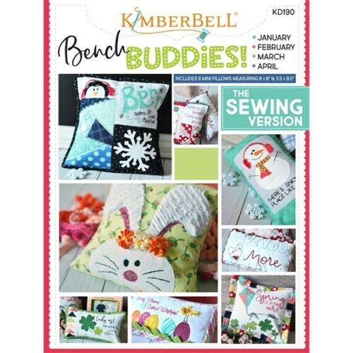 Kimberbell Bench Buddies Series Jan-Apr Sewing Book KD190