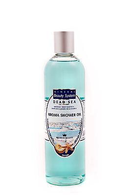 [32,38€/1L] Aroma Duschöl mit Mandelöl Totesmeer Kosmetik Mineral Beauty System