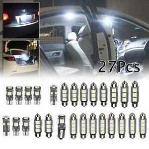 Lampade led per interno auto kit composta da 27 lampade