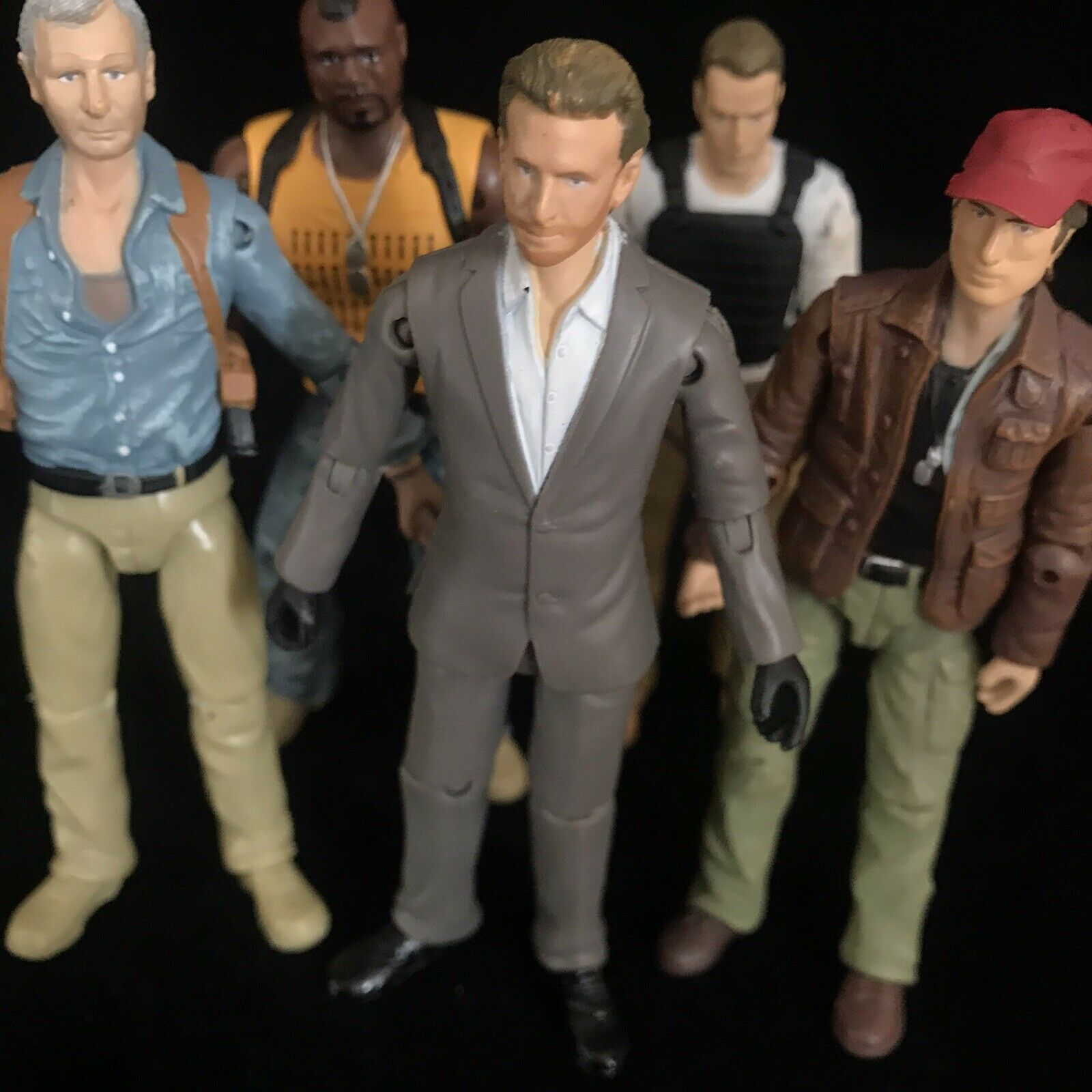 A-Team Movie 3.7  Action Figures RARE Toys
