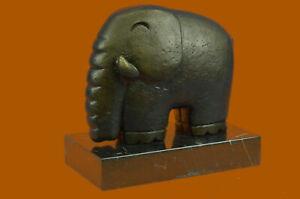 Hot-Cast-Salvador-Dali-Abstract-Modern-Art-Elephant-Bronze-Sculpture-Figurine