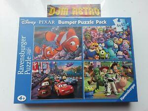 Ravensburger-Disney-Pixar-Bumper-Puzzle-Pack-4-x-42-pieces-4-ans-Jigsaw-Puzzles