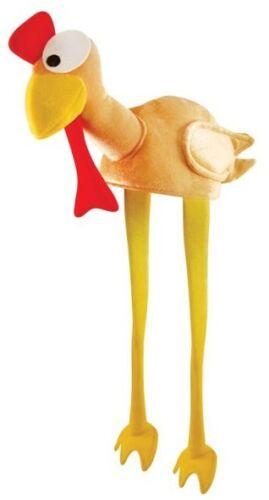 Turkey Chicken Hat With Legs Ladies Men Novelty Christmas Fancy Dress Hats