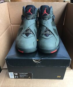 2338a0984fd188 Image is loading Nike-Air-Jordan-8-Take-Flight-Undefeated-Size-