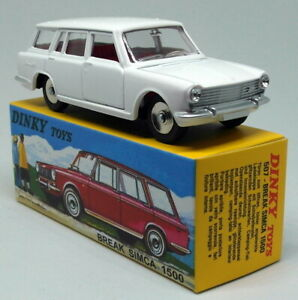 Atlas-Dinky-Toys-Reproduction-507-Simca-Break-White-Diecast-Model-Car