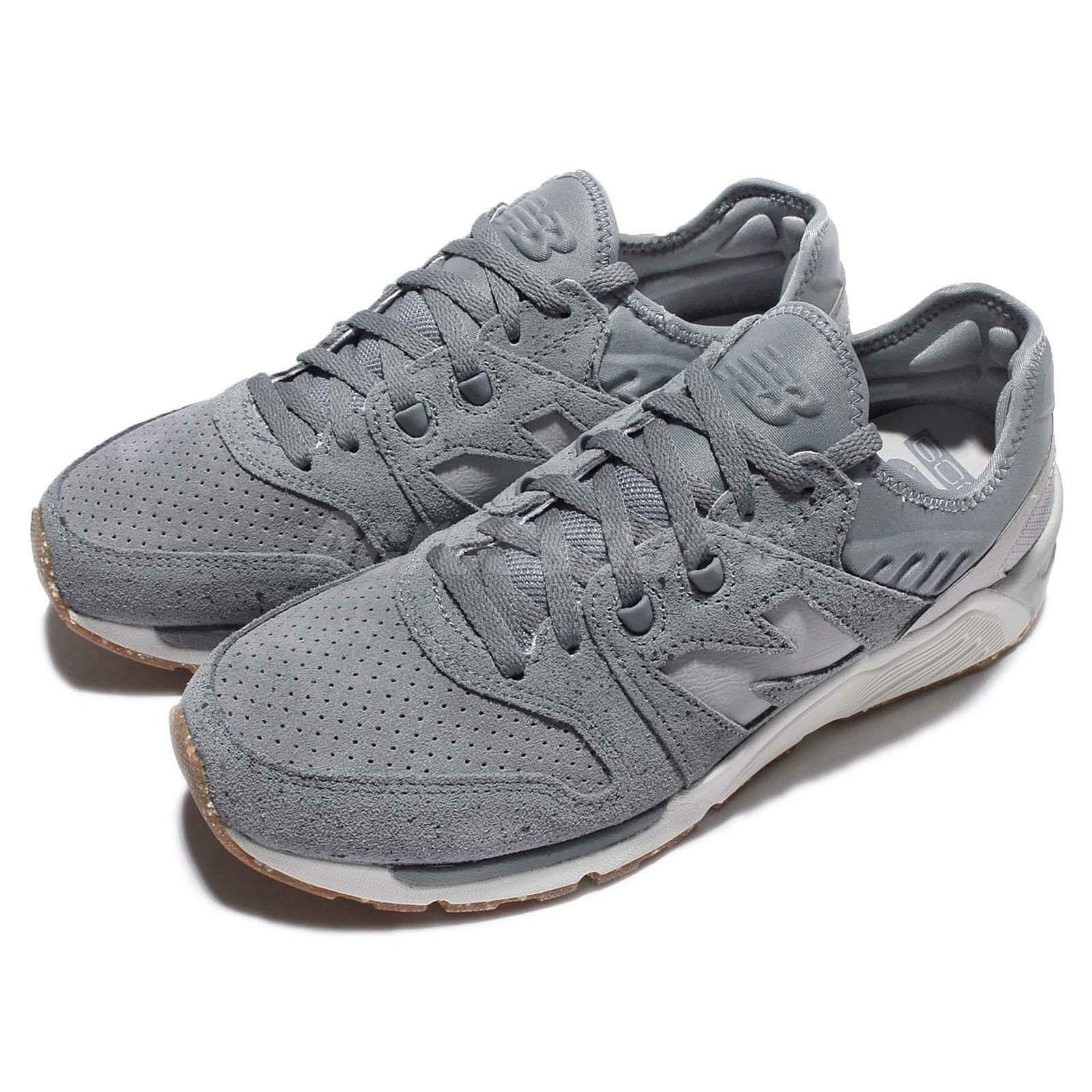 New Balance ML009PB D Speckle Suede Grey Silver White Men Running Shoes ML009PBD