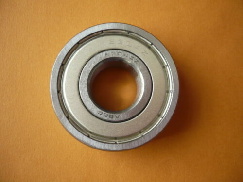 Roulement à billes tambour stock magasin 6304zz 6304z pour machine à laver 20 x 52 x 15