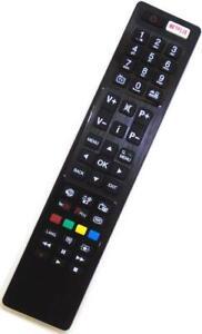 RC4848F TV Remote For JVC LT-40C860 LT-50C750 Logik L43UE17 Linsar 24LED1700