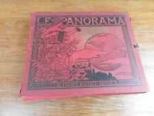 LE PANORAMA Merveilles France Algerie Suisse Belgique etc.. JOHN STODDARD 1900