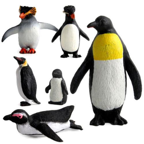 Action Figure Penguin Ocean Animal Model Kids Educational Simulation Models new.