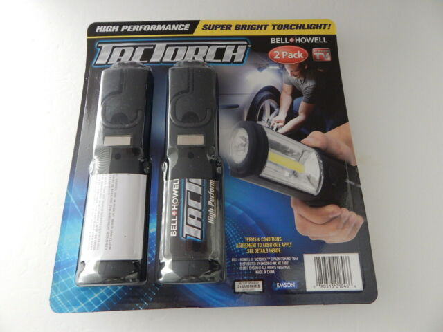 Bell Howell Super Bright LED TacTorch Light 2 Pack As Seen on TV