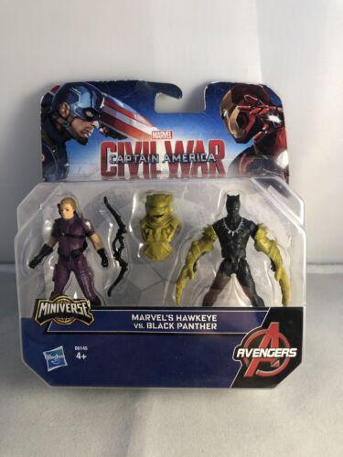 GUERRA civile Marvel Capitan America MERAVIGLIE Occhio di Falco e Pantera Nera
