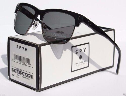 SPY OPTICS Burnside Sunglasses Black//Grey Green NEW Sun//Surf//Snow