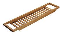 Tina De Baño Ducha Estante Bandeja Caddy Almacenamiento Rack Baño de Bambú puente por bellas Star