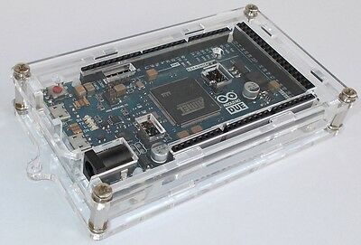 Arduino Due acrylic case enclosure box - from EU
