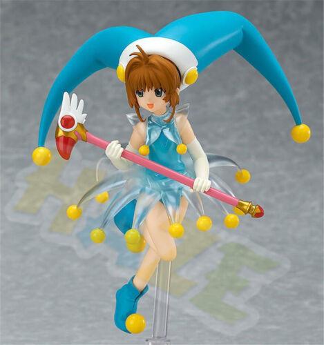 Anime FigFIX 008 Card Captor Sakura Kinomoto Battle Costume Ver Figure Toy Gift