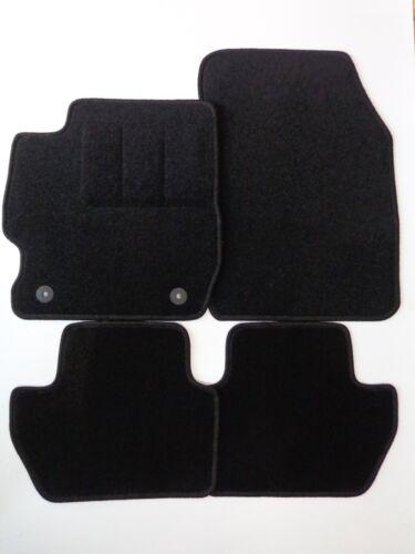 2016 schwarz Nadelfilz Autoteppiche plus ab Bj Fußmatten für  Ford Ka
