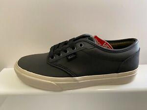 Vans Atwood Buck Leather Mens Shoes UK 6 US 7 EUR 39 CM 25 REF ...