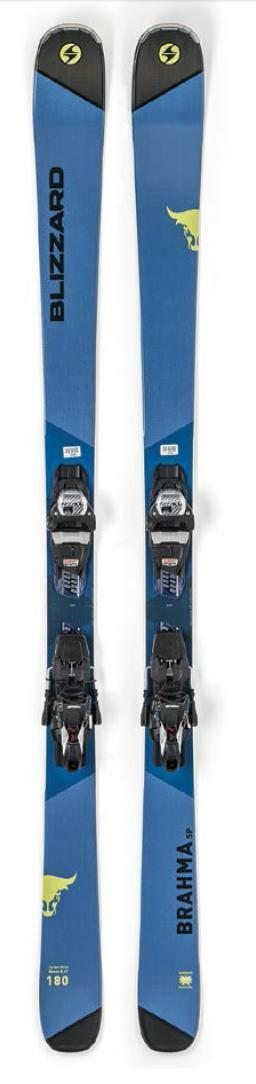Blizzard Brahma SP snow skis 180cm with Bindings NEW 2019