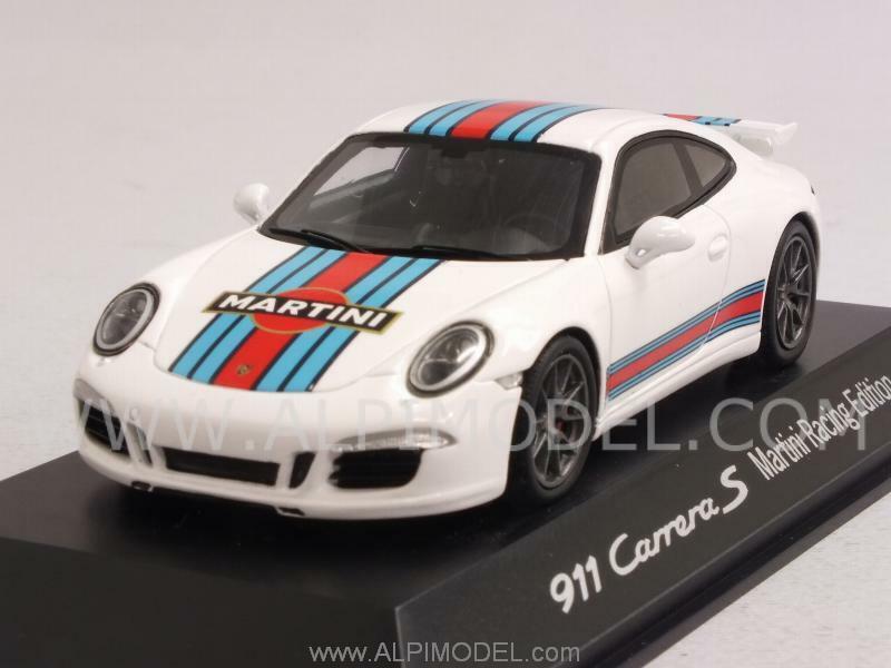 Porsche 911 Carrera S Aerokit Martini Racing Edition 2015 1 43 SPARK WAP0202300G