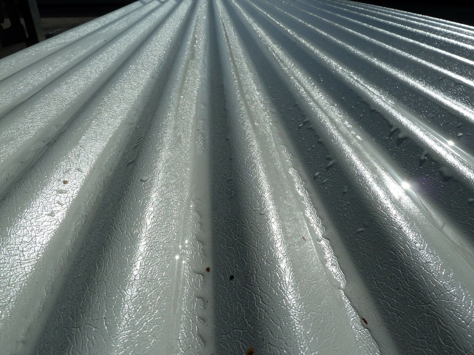Cheap Corrugated Roof Sheets Goosewing Grey Pvc Coated