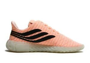 half off 86ff7 7a85c Image is loading Mens-ADIDAS-SOBAKOV-Clear-Orange-Running-Trainers-BB7619